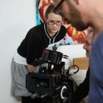 Regisseurin Lolita Buettner am Set_Tag 2_2